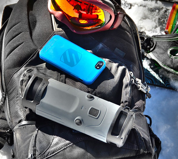 boomBOTTLE Weatherproof Wireless Portable Speaker
