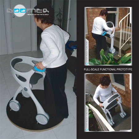 boomer mobility aid for the elderly people
