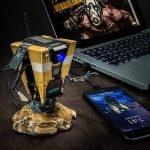 Borderlands Claptrap Talking USB Hub Greets You Every Time You Connect The Hub