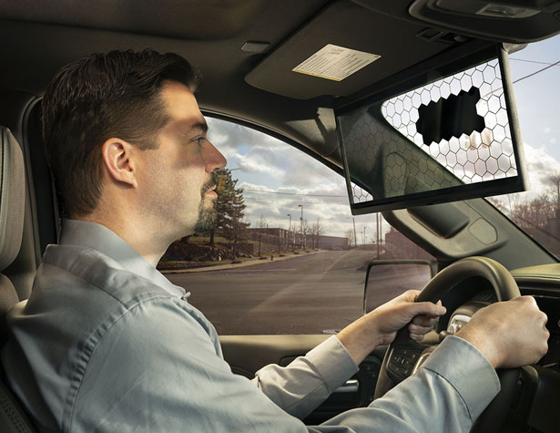 Bosch's Virtual Visor LCD Panel Will Change The Way Drivers See The Road