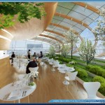 Botanic Center Bloom by Vincent Callebaut Architectures