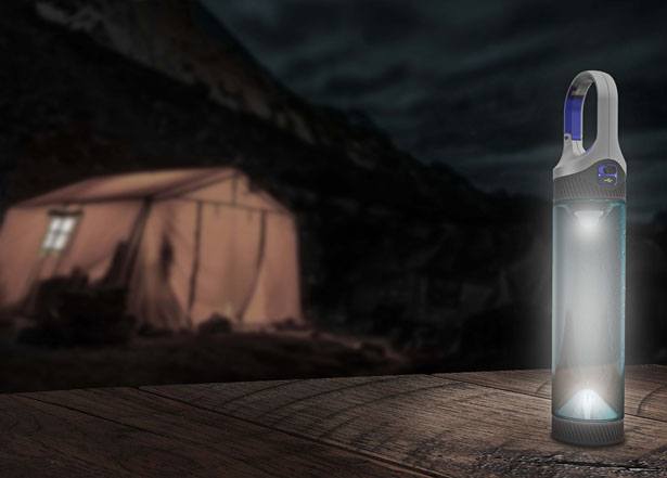 Bottlelight by Christoph Kuppert