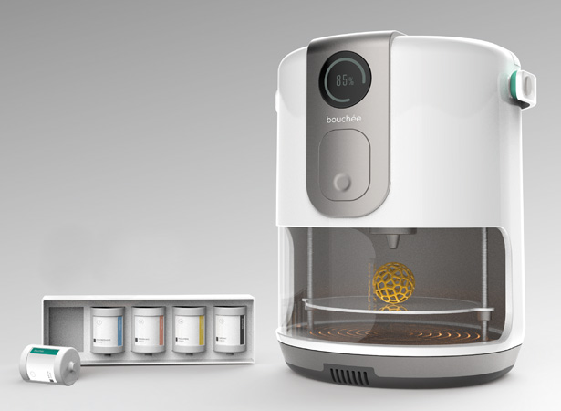 Bouchee Capsule Food Printer by Chen Bing Chen and Wang Min Chen