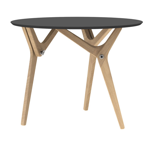 Boulon Blanc Transformable Table