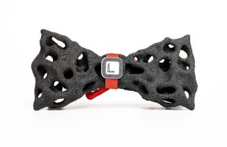 Yakobium Sandstone Bow Tie Fashion was Inspired by Iconic Bohemian Paradise Rock Formations