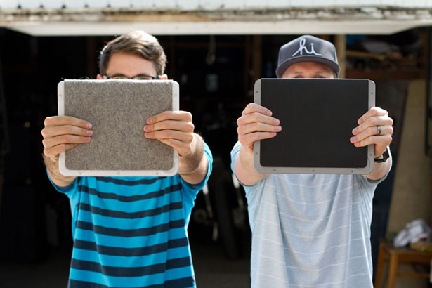 Bowden and Sheffield Minimalist iPad Cases by Leve Price and Eric Rea