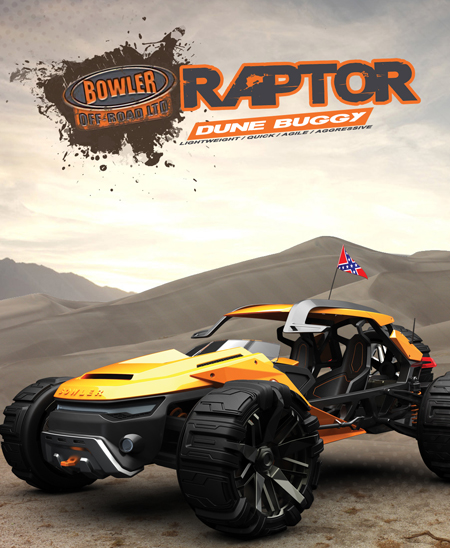Bowler Raptor 4WD Vehicle Design is Powered by Lithium-Titanate Batteries