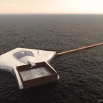 The Ocean Cleanup Platform by Boyan Slat