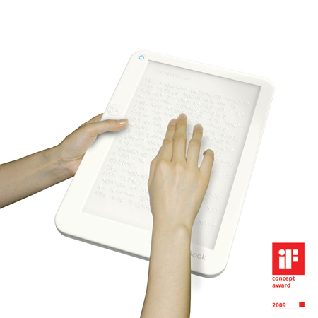 Braille E-Book for Visually Challenged People