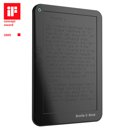 braille e-book reader