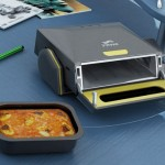 BrainWave Desktop Microwave Oven Heats Your Meals On Your Table