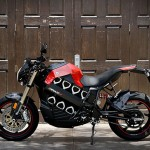 Futuristic Brammo Empulse All Electric Motorcycle