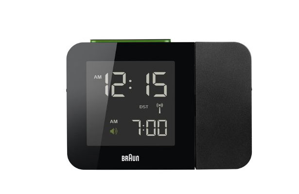 Braun Digital Tilt Projection Alarm Clock