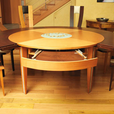expandable table from braunwoodline