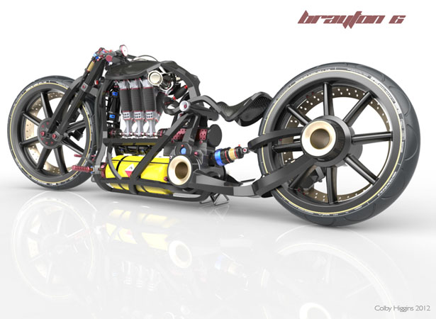 Brayton 6 Concept Bike by Colby Higgins