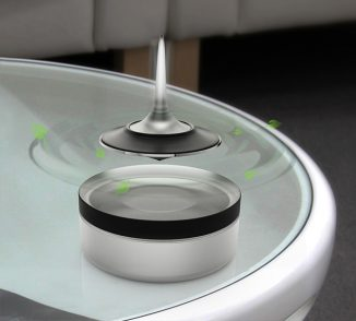 BREASPIN Maglev Air Freshener in Form of a Spinning Top