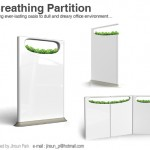Breathing Partition for Natural Touch in Office Environment