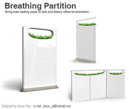breathing partition