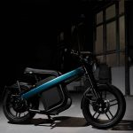BREKR Model B Electric, Smart Motorcycle with Removable Battery