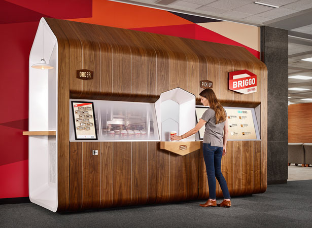 Briggo Coffee Haus Smart Kiosk by Yves Behar