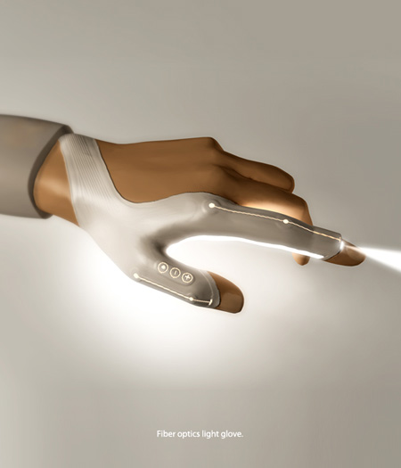 bright led glove