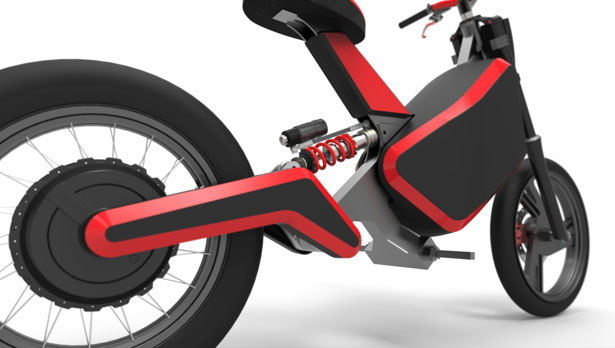 Bruc 01 Electric Motorbike Concept