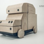 BRUMM Wooden Car Toy Allows You to Build Different Car Models