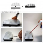 Brush Mouse Provides Better Air Circulation for Sweaty Palm