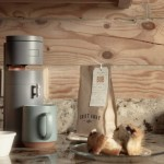 Bruvelo Coffee Brewer Features Built-in Grinder and Supports Different Types of Coffee Filters