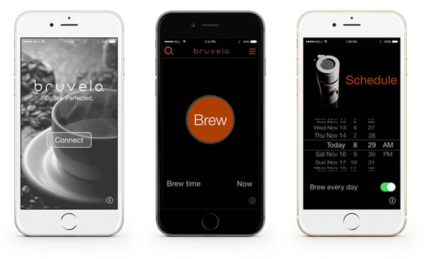 Bruvelo Coffee Brewer by Dustin Sell
