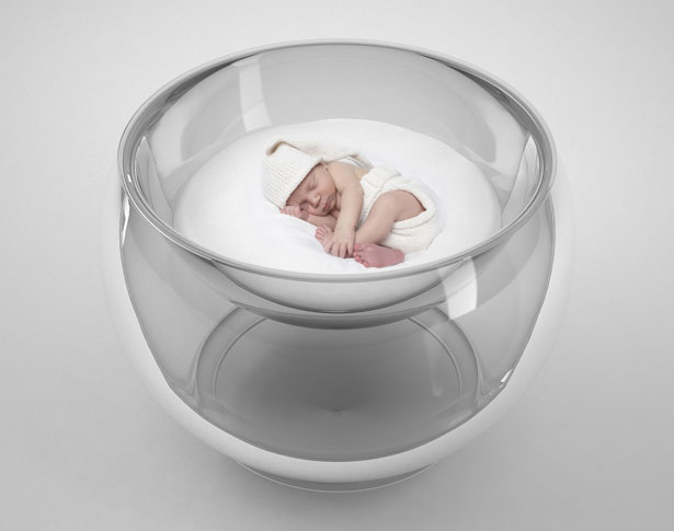 Bubble Baby Bed Futuristic Baby Crib That Was Inspired