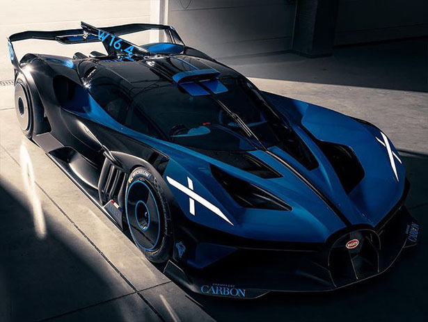 the BUGATTI Bolide - Radically Light Race Car