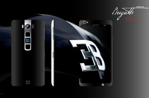 Concept Smartphone Proposal for Bugatti by Mladen Milic