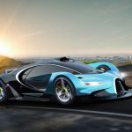 Bugatti Concept Proposal : Bugatti Inspired Futuristic Racing Car