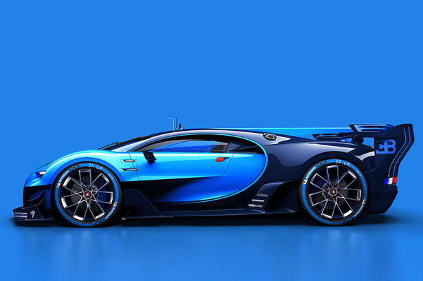 Bugatti Vision Gran Turismo Virtual Racing Car