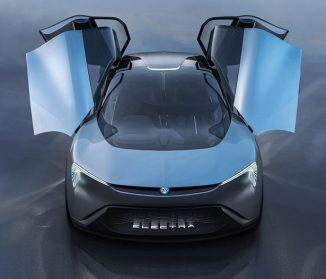 Buick Electra Concept Car – All Electric Crossover with Butterfly Wing Doors