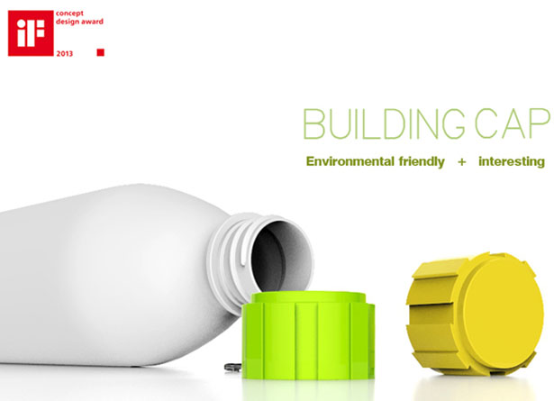Building Cap Eco-Friendly Bottle Cap by Shengpeng Zhao,Chen Xu,Shun Feng, and Chao Gao