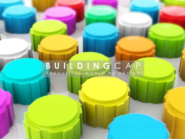 Children Can Build Buildings, Robots, or Animals Using Eco-Friendly Building Cap