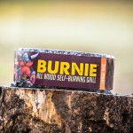 Burnie All Wood Self-Burning Grill : No Waste, No clean Up!