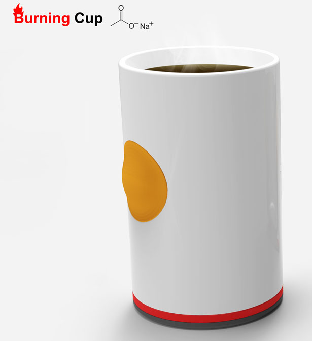 Burning Cup by Ryan Jongwoo Choi