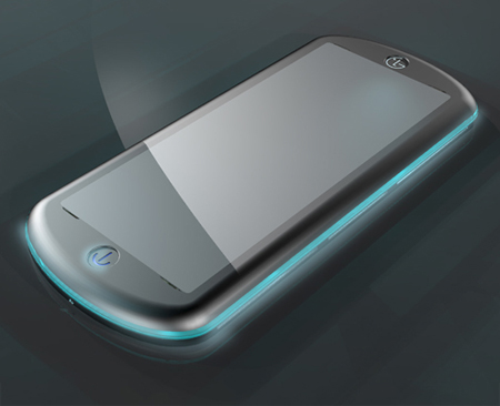 Burst Projector Concept Cell Phone Proposal for LG