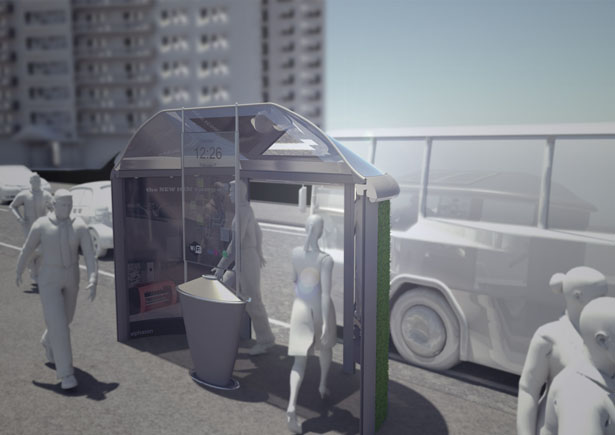 Bus Stop Shelter Design by Gavin Harvey Simplifies The Operational Logistics of Forthcoming Public Transport Infrastructure