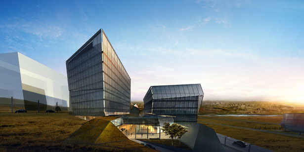 Byn Unveil Office Complex for Ordos Project