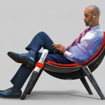 BZI Lounge Chair Concept by Arash Shahbaz