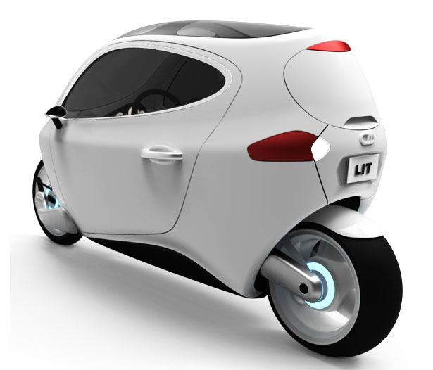 C-1 Gyroscopically Electric Motorcycle from Lit Motors Inc