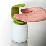 C-Pump Single Handed Soap Dispenser by Joseph Joseph