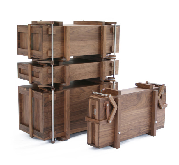Cabinet of Chests by Scheublin and Lindeman
