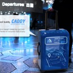Caddy Smart Carry-on Suitcase Is Your Futuristic Travel Companion