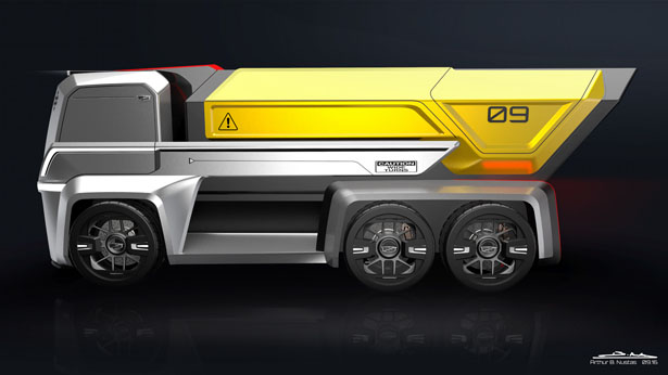 Cadillac TLR Truck Series Concept Design by Arthur B. Nustas