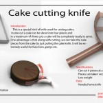 Cake Cutting Knife by Arun Paul